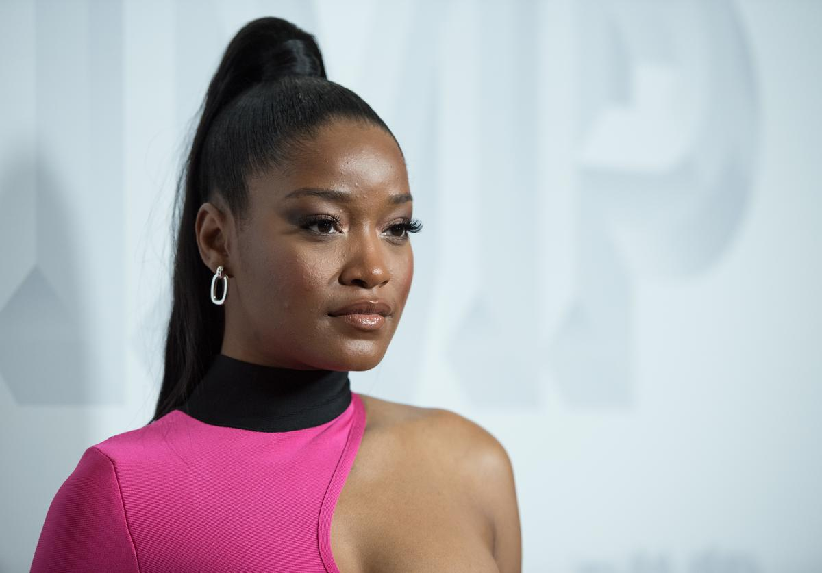 Keke Palmer arrives at the premiere of Vertical Entertainment's 'Pimp' at Pacific Theatres at The Grove on November 7, 2018 in Los Angeles, California