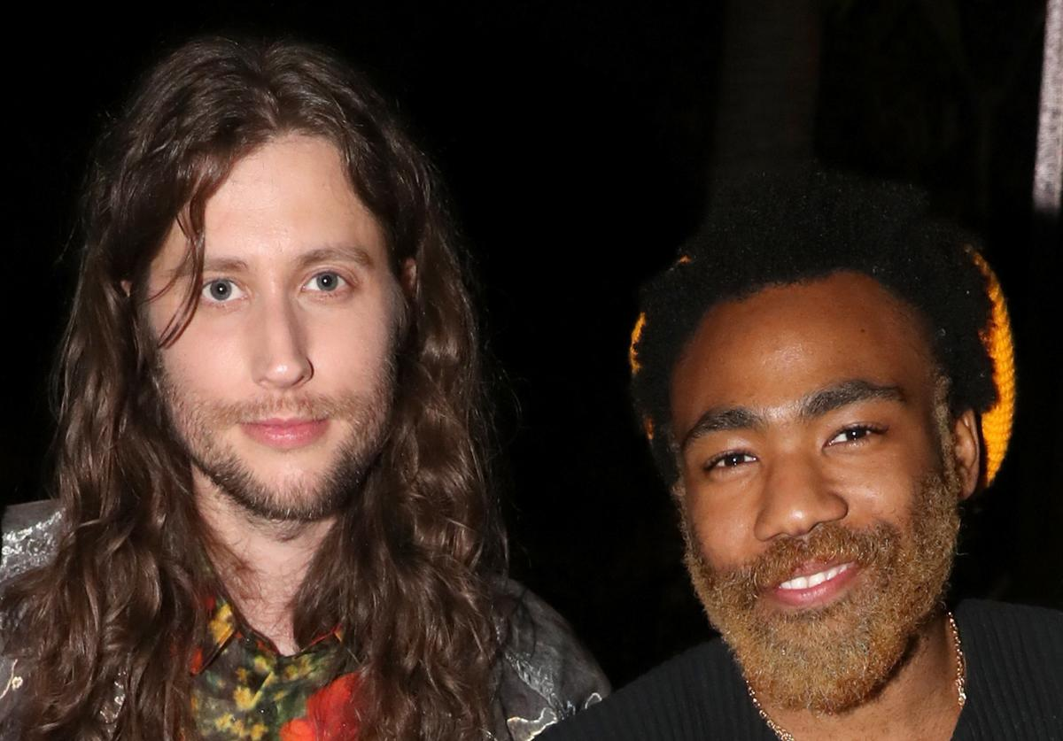 Ludwig Göransson and Donald Glover attend the Academy Award and Multi-Grammy Nominee Ludwig Göransson's Grammy Celebration on February 7, 2019 in Los Angeles, California