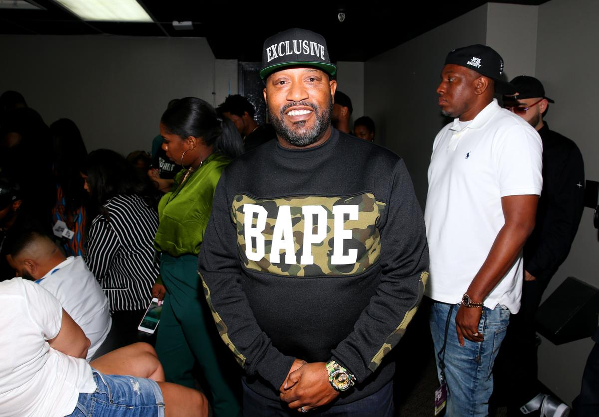Bun B is seen backstage during the BET Hip Hop Awards 2018 at Fillmore Miami Beach on October 6, 2018 in Miami Beach, Florida.