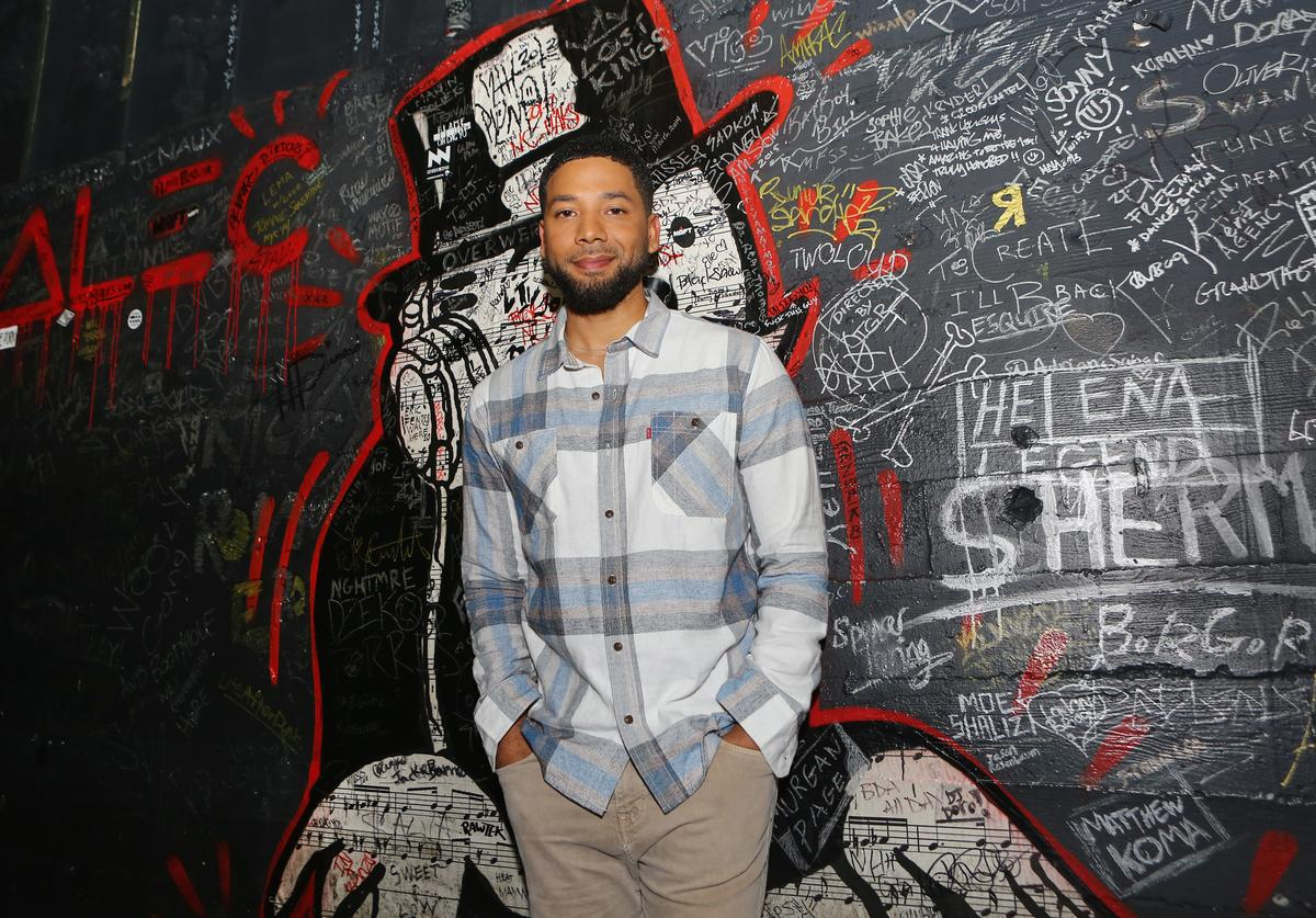 Jussie Smollett attends Espolòn Celebrates Day of the Dead at Academy Nightclub on November 1, 2018 in Hollywood, California