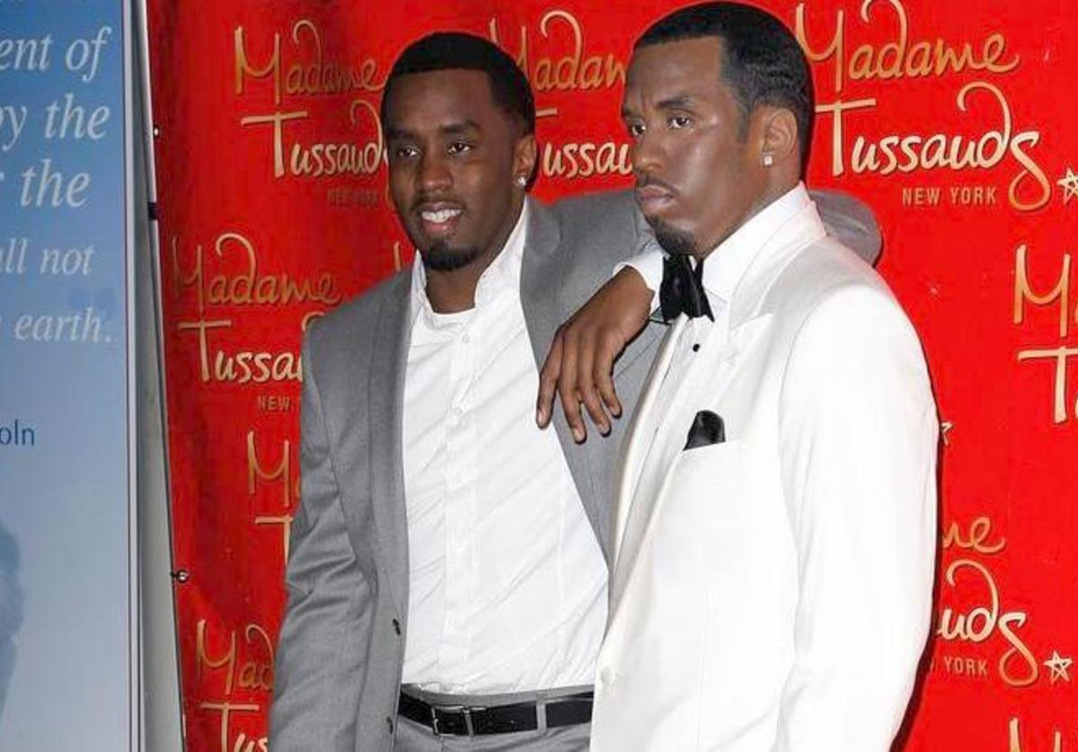 Sean 'Diddy' Combs attends the Sean Combs wax figure unveiling at Madame Tussauds on December 15, 2009 in New York City