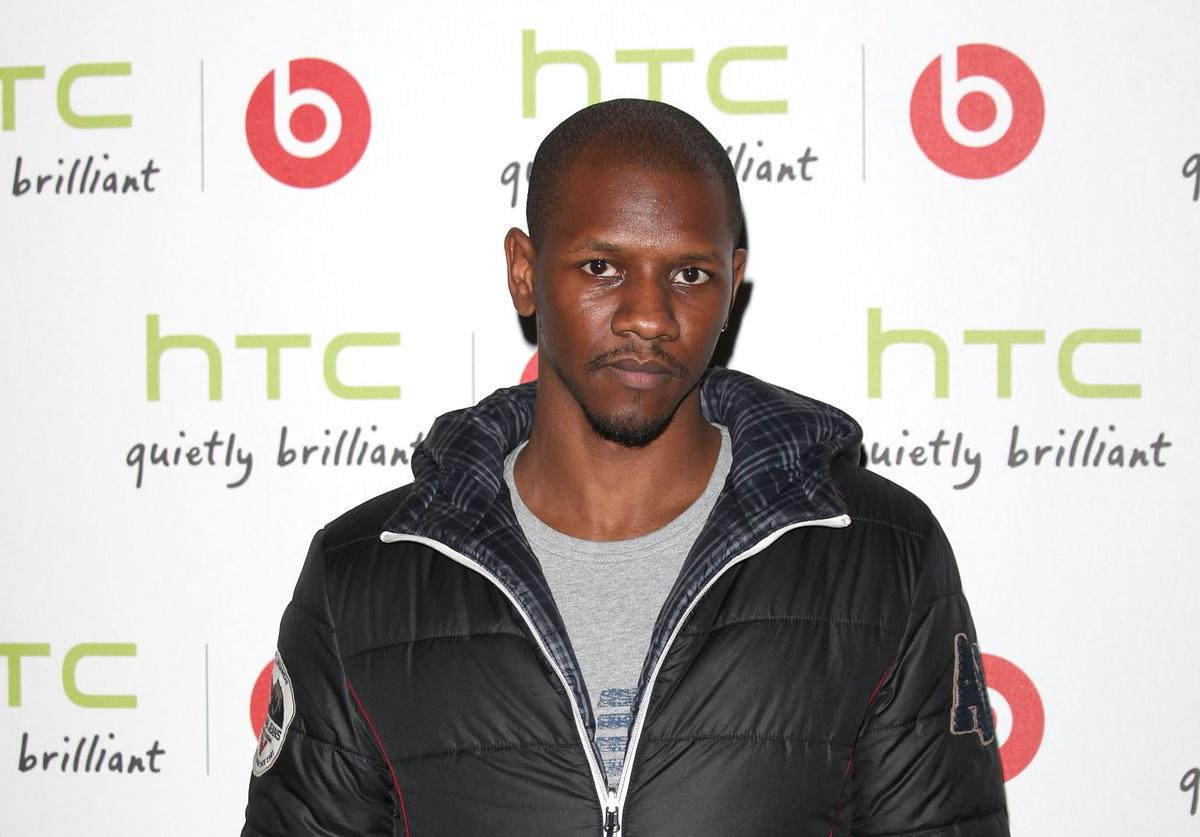 Rapper Nathaniel Thompson aka Giggs attends party to celebrate the partnership between HTC and Beats Audio at The Roundhouse on October 6, 2011 in London, England