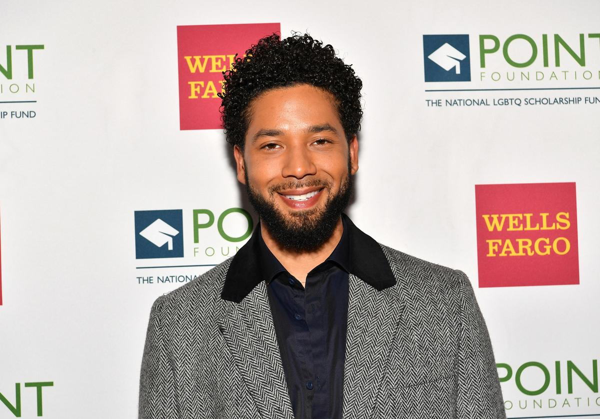 Musical Performer Jussie Smollett attends as Point Foundation hosts Annual Point Honors New York Gala Celebrating The Accomplishments Of LGBTQ Students at The Plaza Hotel on April 9, 2018 in New York City.