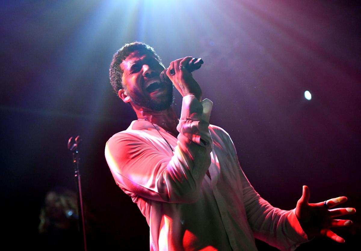 Jussie Smollett performs onstage at Troubadour on February 02, 2019 in West Hollywood, California