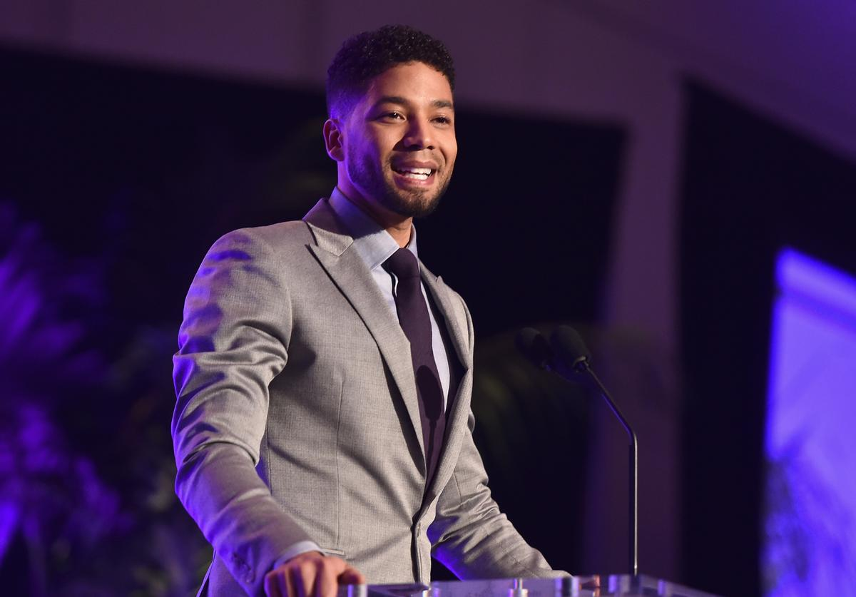 Jusssie Smollett attends the 47th NAACP Image Awards Non-Televised Awards Ceremony on February 4, 2016 in Pasadena, California
