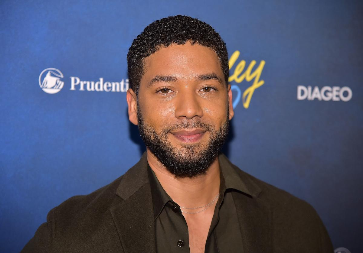 Jussie Smollett attends the Alvin Ailey American Dance Theater's 60th Anniversary Opening Night Gala Benefit at New York City Center on November 28, 2018 in New York City.