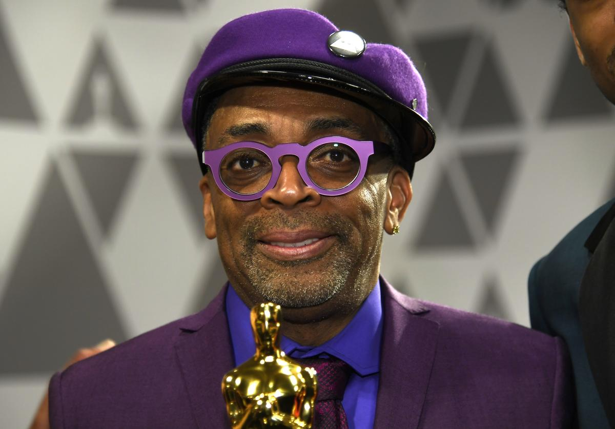 Spike Lee, winner of Adapted Screenplay for ''BlacKkKlansman,' attends the 91st Annual Academy Awards Governors Ball at Hollywood and Highland on February 24, 2019 in Hollywood, California
