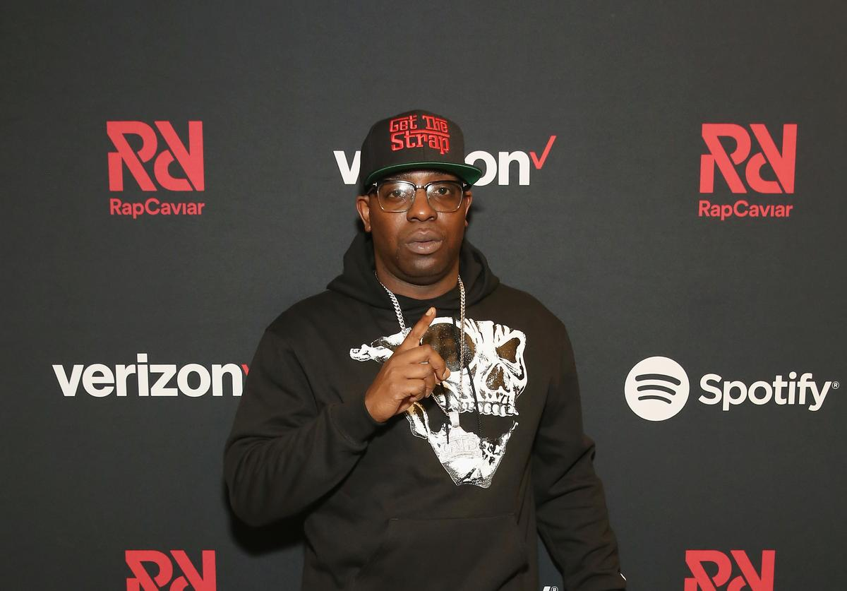 Uncle Murda attends Chance The Rapper to Headline Spotify's RapCaviar Live In Brooklyn in Partnership with Live Nation Urban and Verizon on September 29, 2018 at Ford Amphitheater at Coney Island Boardwalk in Brooklyn, New York