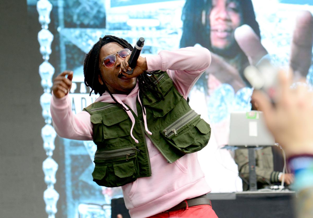 Lil B performs onstage during the 2018 Made In America Festival - Day 2 at Benjamin Franklin Parkway on September 2, 2018 in Philadelphia, Pennsylvania
