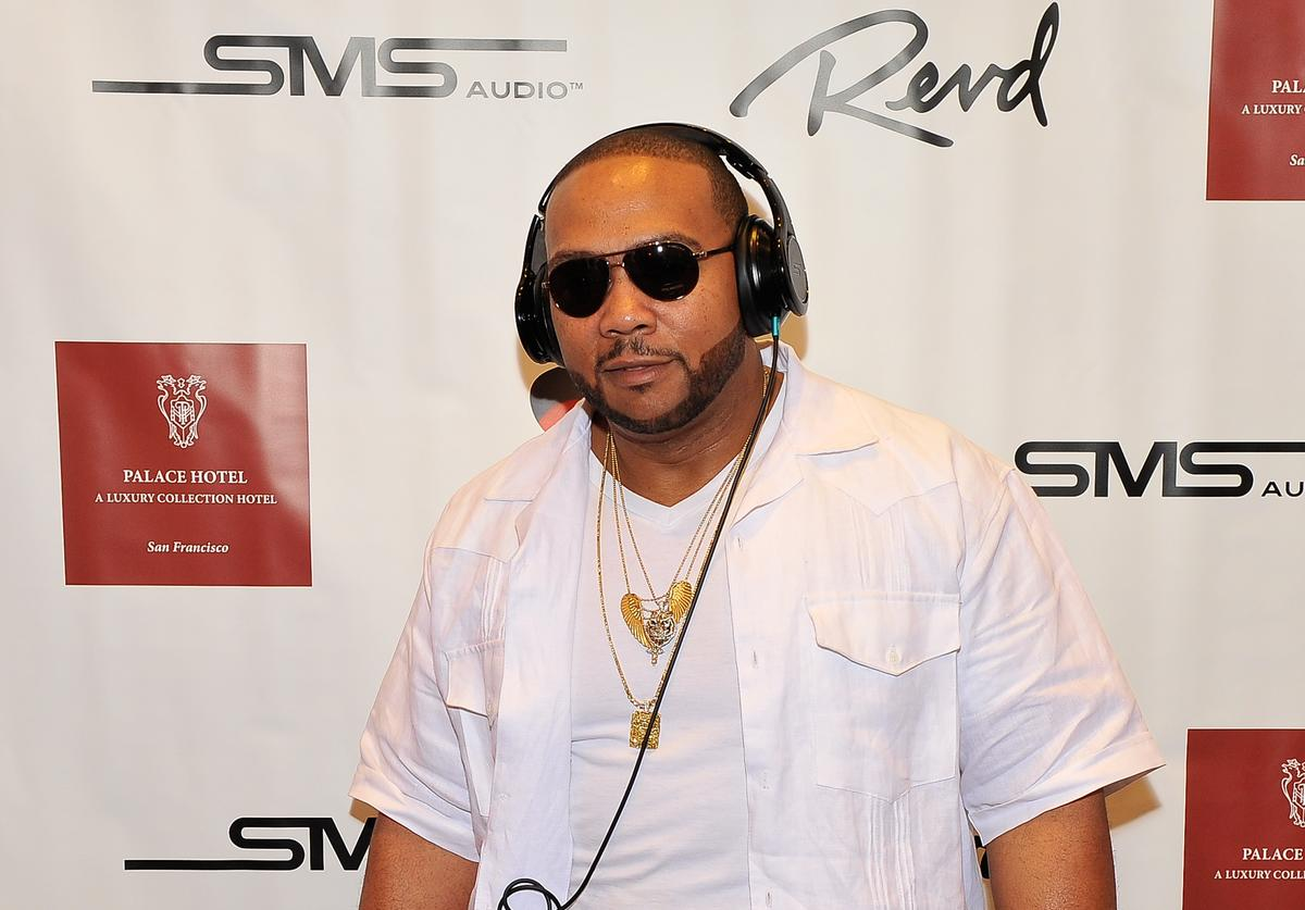 Timbaland attends the Revd Launch Event at Palace Hotel on June 29, 2013 in San Francisco, California.