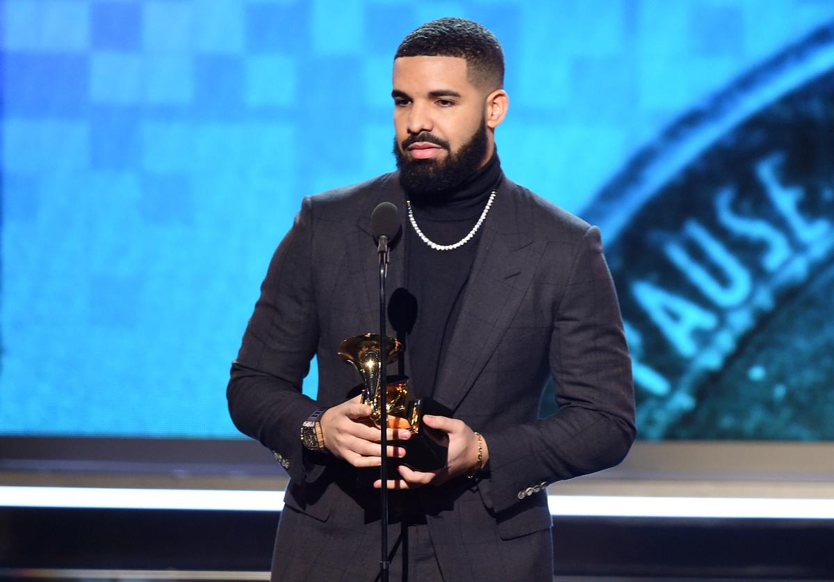 Drake accepts the Best Rap Song award for 'God's Plan' onstage during the 61st Annual GRAMMY Awards at Staples Center on February 10, 2019 in Los Angeles, California