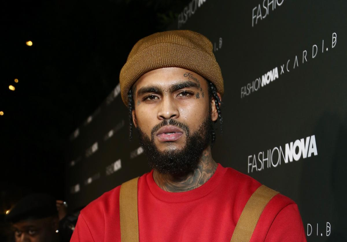 Dave East attends the Fashion Nova x Cardi B Collaboration Launch Event at Boulevard3 on November 14, 2018 in Hollywood, California.
