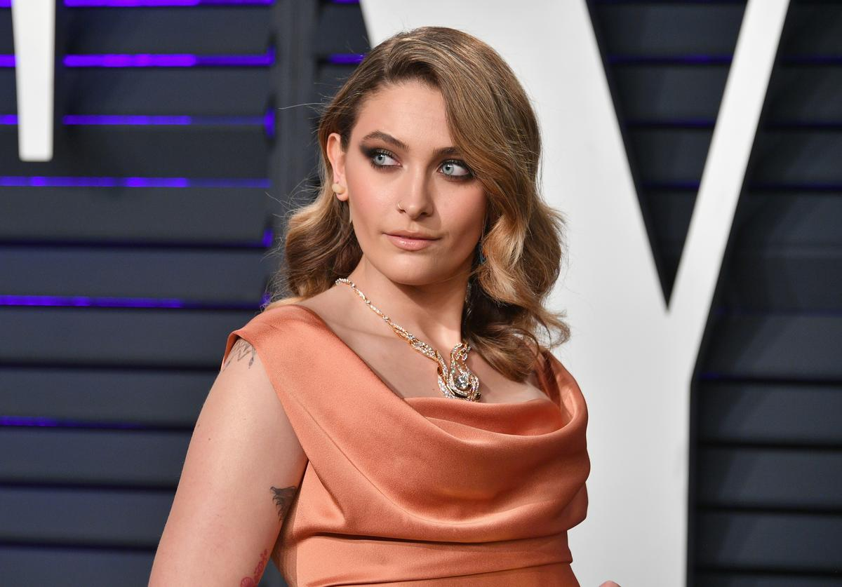 Paris Jackson attends the 2019 Vanity Fair Oscar Party hosted by Radhika Jones at Wallis Annenberg Center for the Performing Arts on February 24, 2019 in Beverly Hills, California.