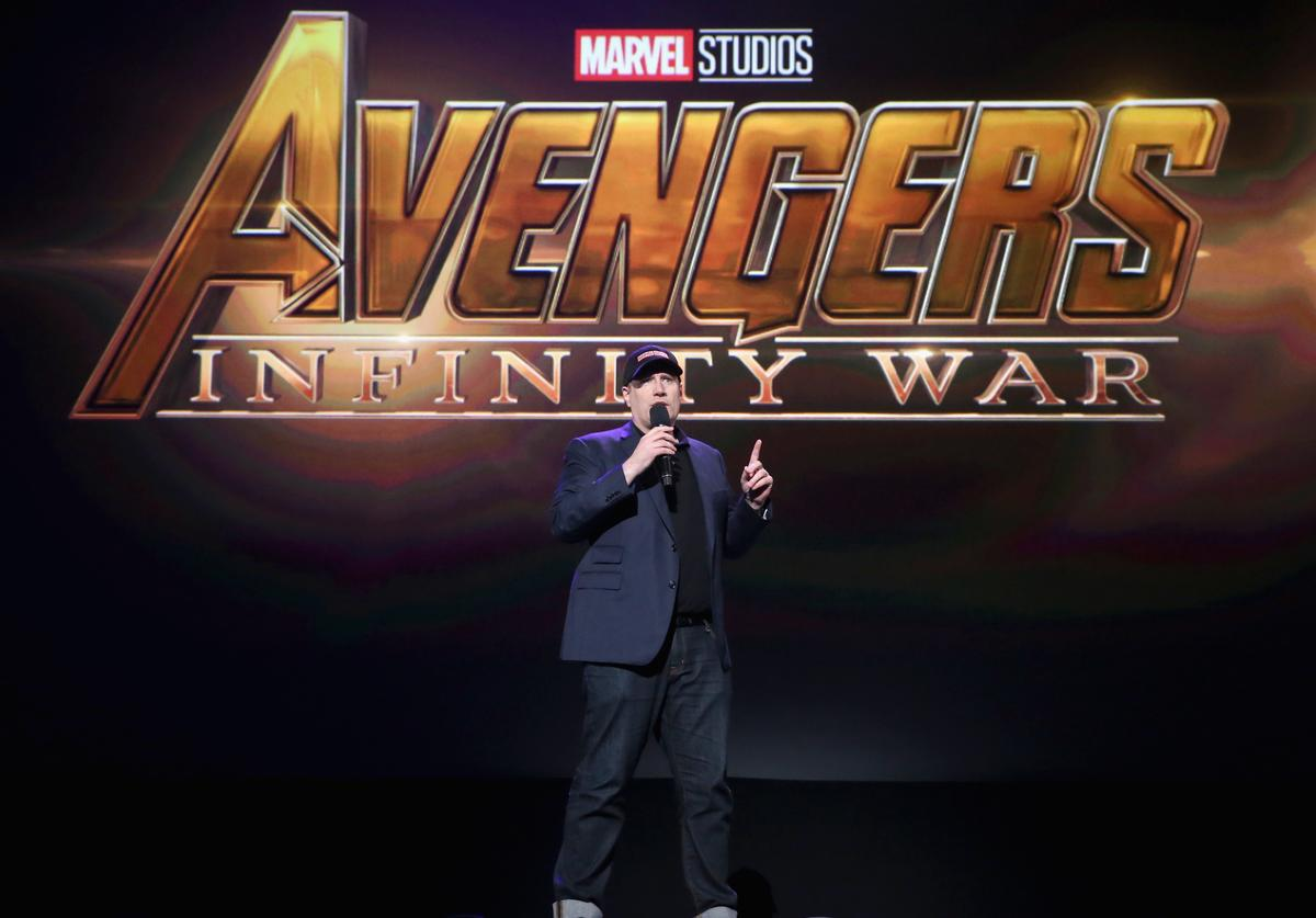 Producer Kevin Feige of AVENGERS: INFINITY WAR took part today in the Walt Disney Studios live action presentation at Disney's D23 EXPO 2017 in Anaheim, Calif
