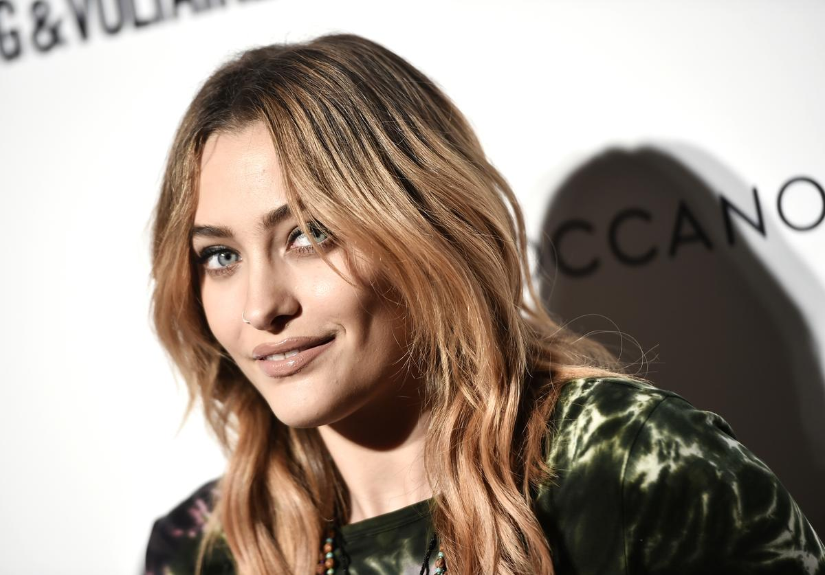 Paris Jackson attends Daily Front Row's Fashion Media Awards presented by Zadig&Voltaire, Sunglass Hut, Moroccan Oil, LIM, Fiji on September 6, 2018 in New York City