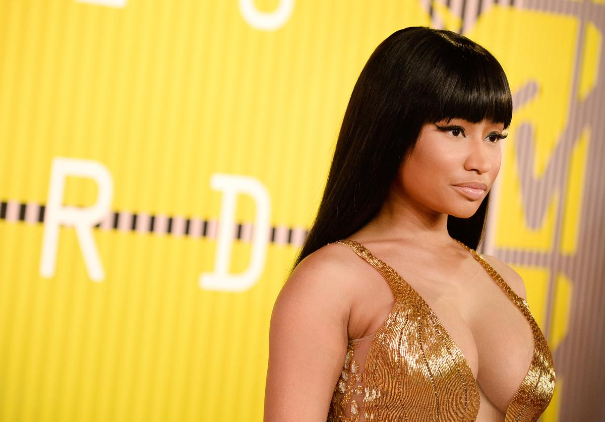 Nicki Minaj attends the 2015 MTV Video Music Awards at Microsoft Theater on August 30, 2015 in Los Angeles, California
