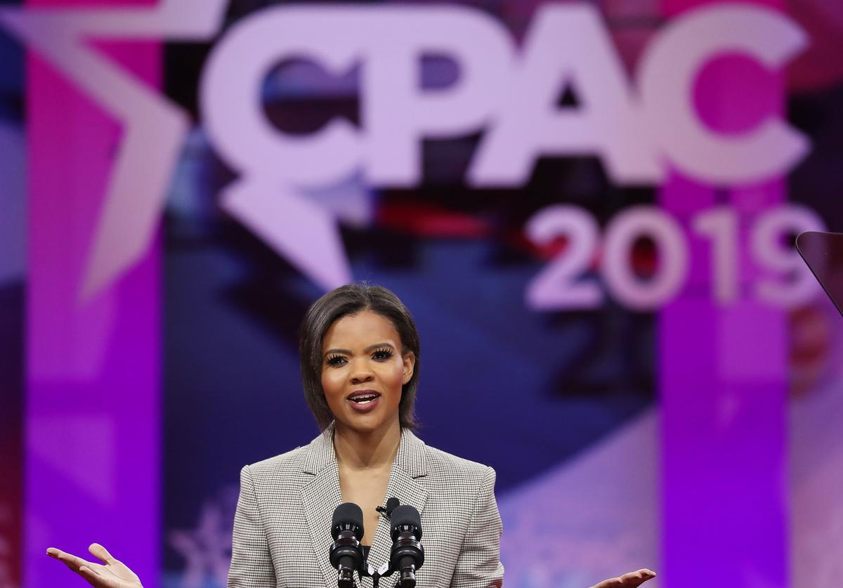 Commentator Candace Owens speaks during CPAC 2019 on March 1, 2019 in National Harbor, Maryland. The American Conservative Union hosts the annual Conservative Political Action Conference to discuss conservative agenda.