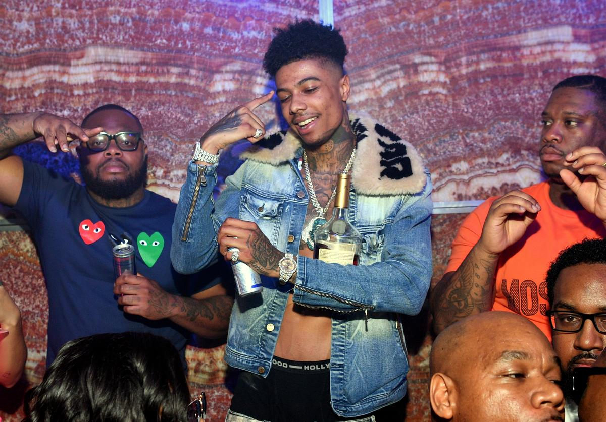 Blueface Hosts a Party at Tiger Tiger on March 10, 2019 in Atlanta, Georgia