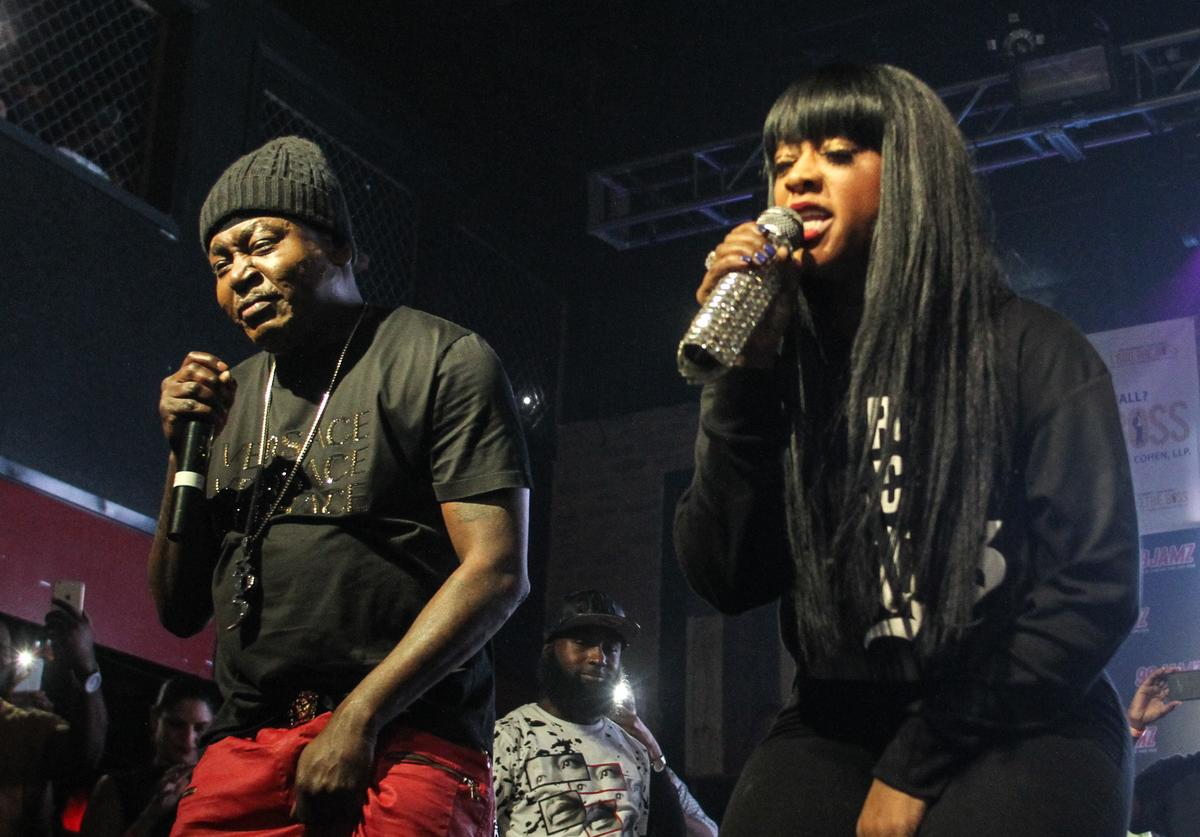 Trick Daddy and Trina perform at Revolution on February 4, 2016 in Fort Lauderdale, Florida