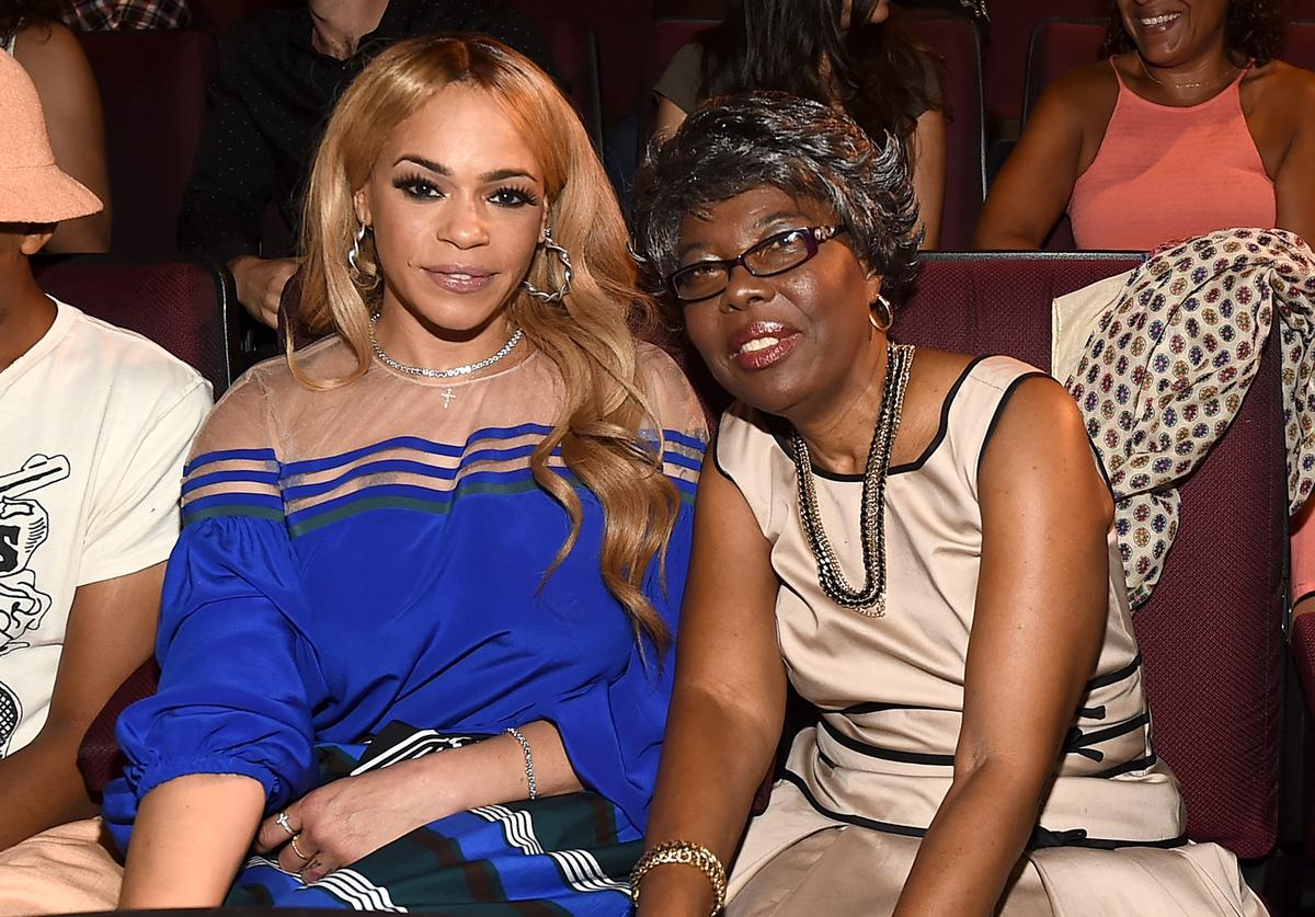 Faith Evans, Voletta Wallace