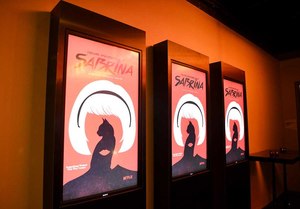 A general view of atmosphere at Netflix's 'The Chilling Adventures of Sabrina' Q&A and Reception at the Pacific Design Center on March 17, 2019 in West Hollywood, California