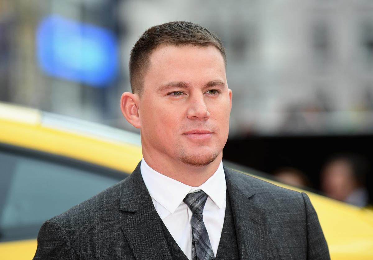 Channing Tatum arriving at the 'Logan Lucky' UK premiere held at Vue West End on August 21, 2017 in London, England
