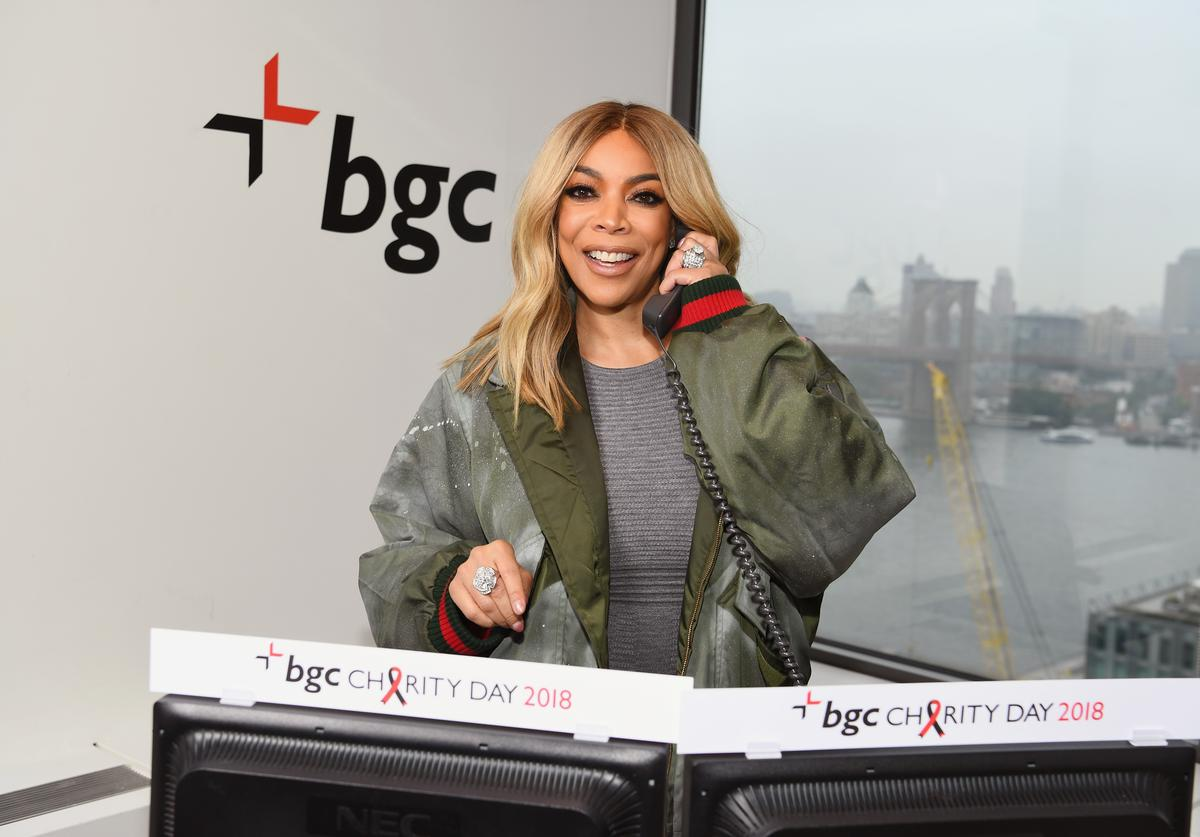 Wendy Williams attends Annual Charity Day hosted by Cantor Fitzgerald, BGC and GFI at BGC Partners, INC on September 11, 2018 in New York City.