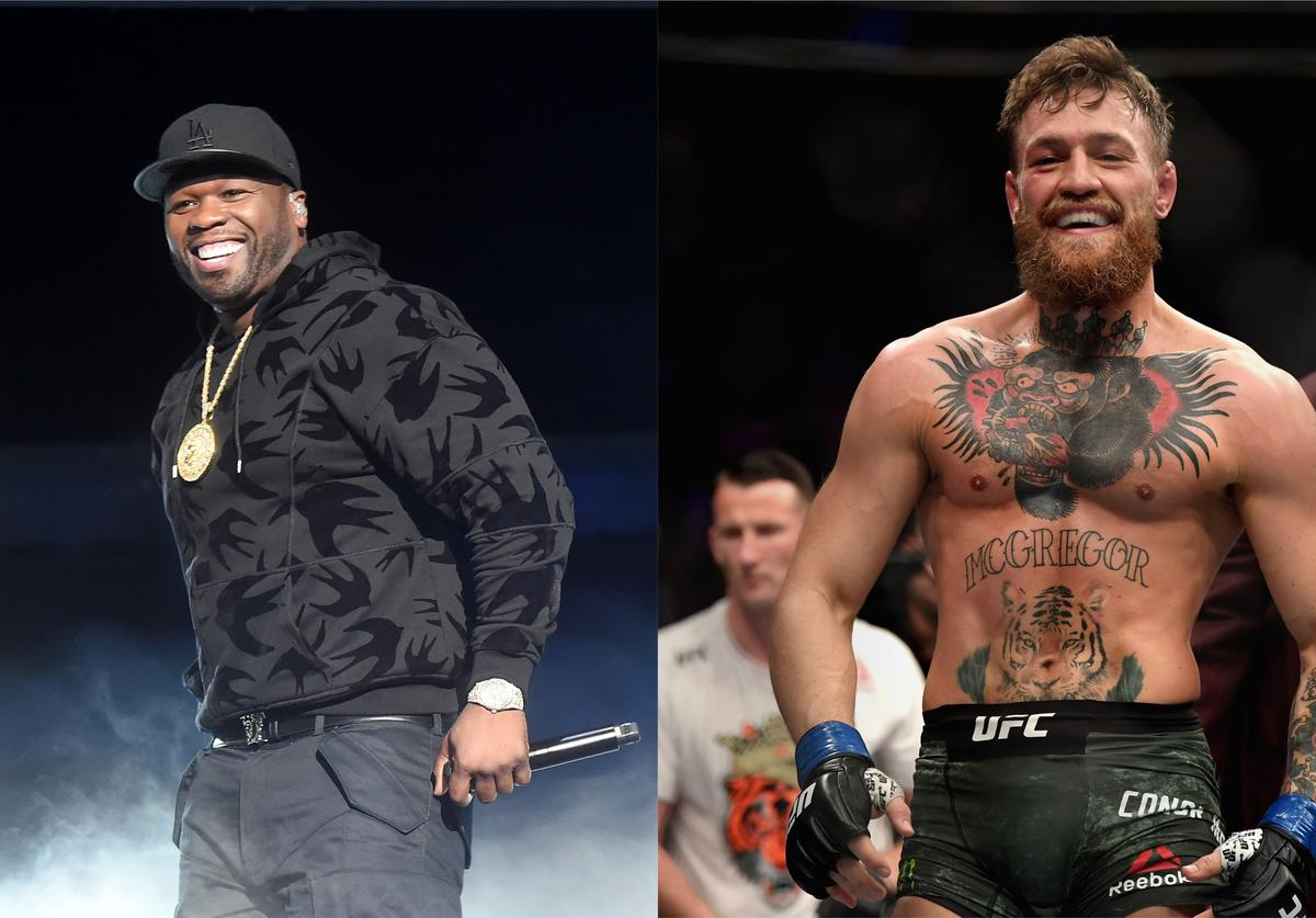 50 cent vs conor mcgregor