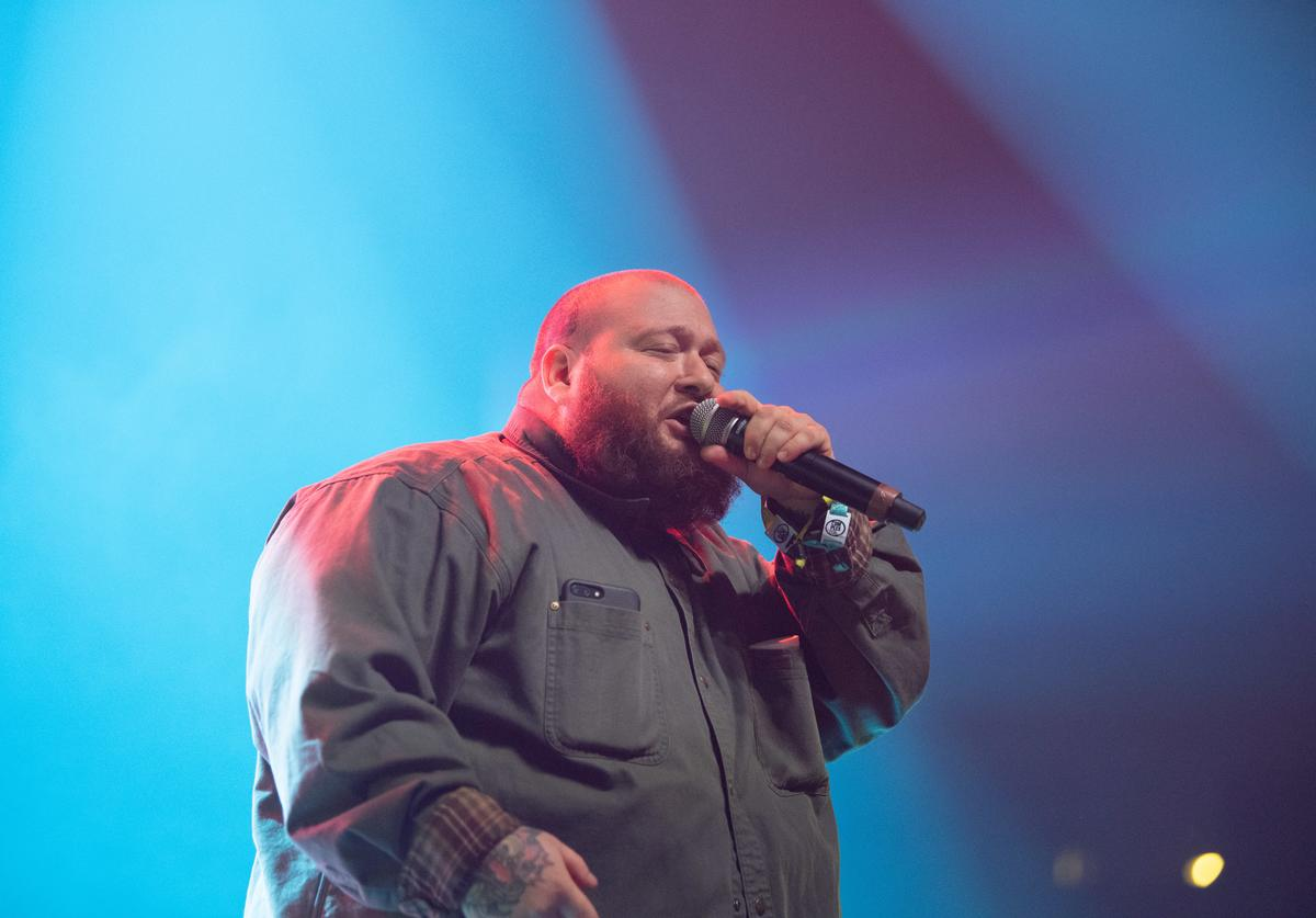 Action Bronson performs at 2018 ComplexCon at Long Beach Convention Center on November 4, 2018 in Long Beach, California