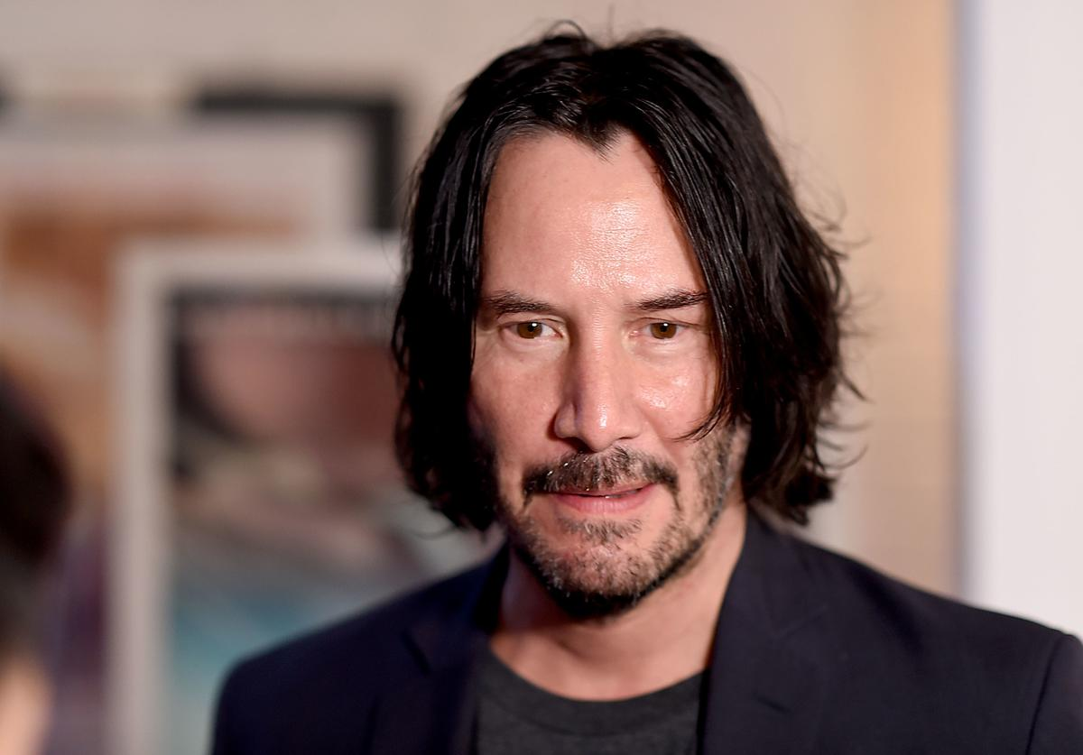 Keanu Reeves attends the'Siberia' New York Premiere at The Metrograph on July 11, 2018 in New York City