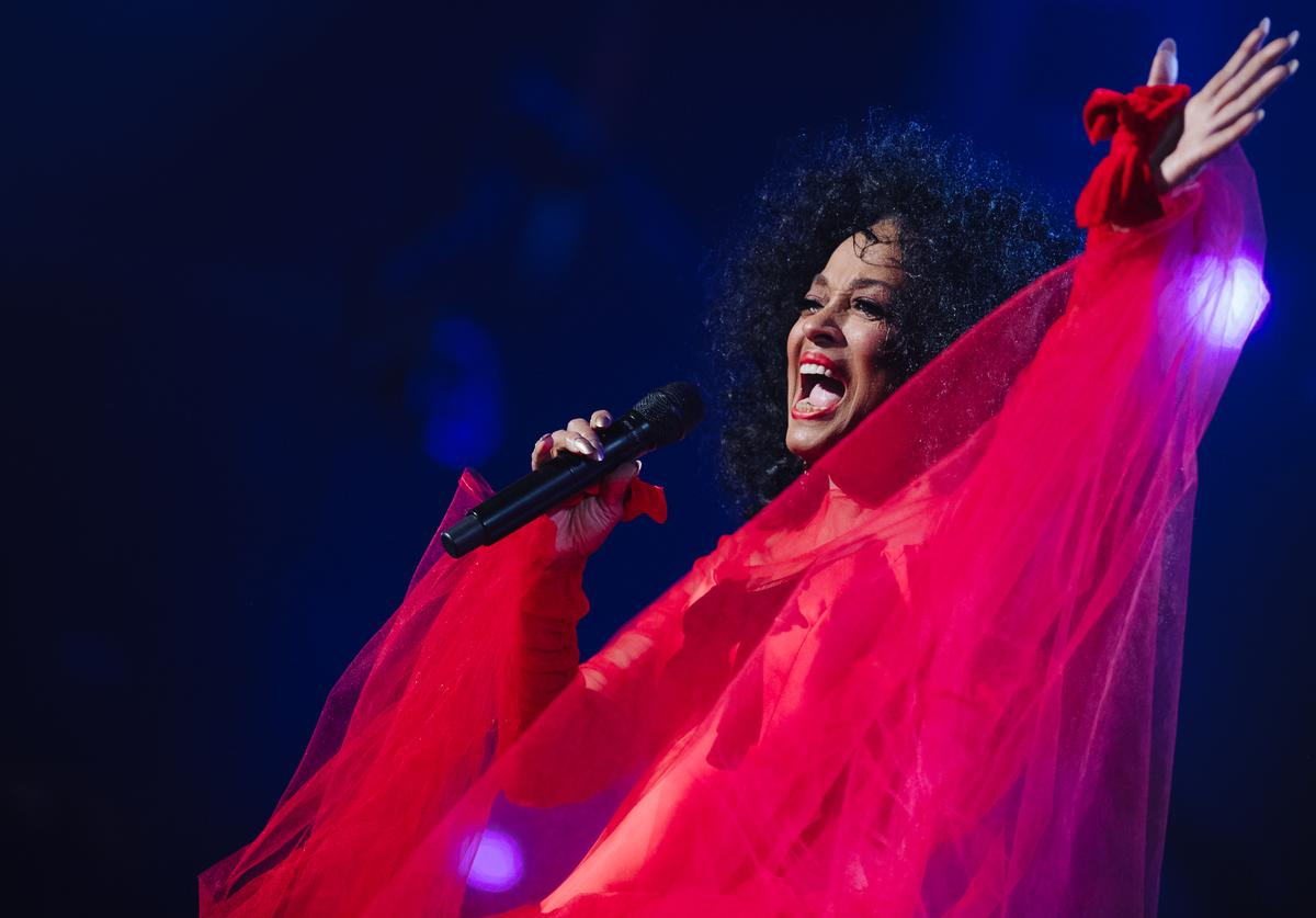 Diana Ross performs onstage at the 61st annual GRAMMY Awards at Staples Center on February 10, 2019 in Los Angeles, California.