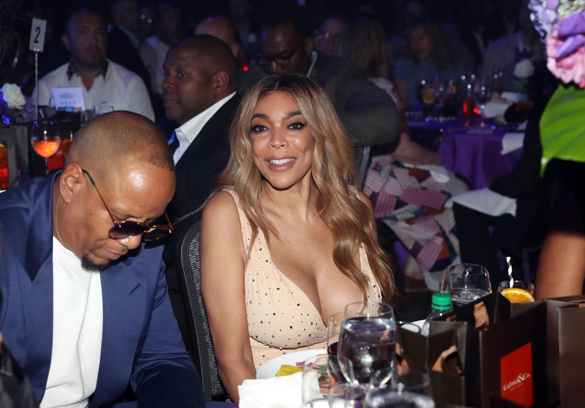 Kevin Hunter (L) and Wendy Williams attend the Wendy Williams Hunter Birthday Give Back Gala at Hammerstein Ballroom on July 18, 2018 in New York City