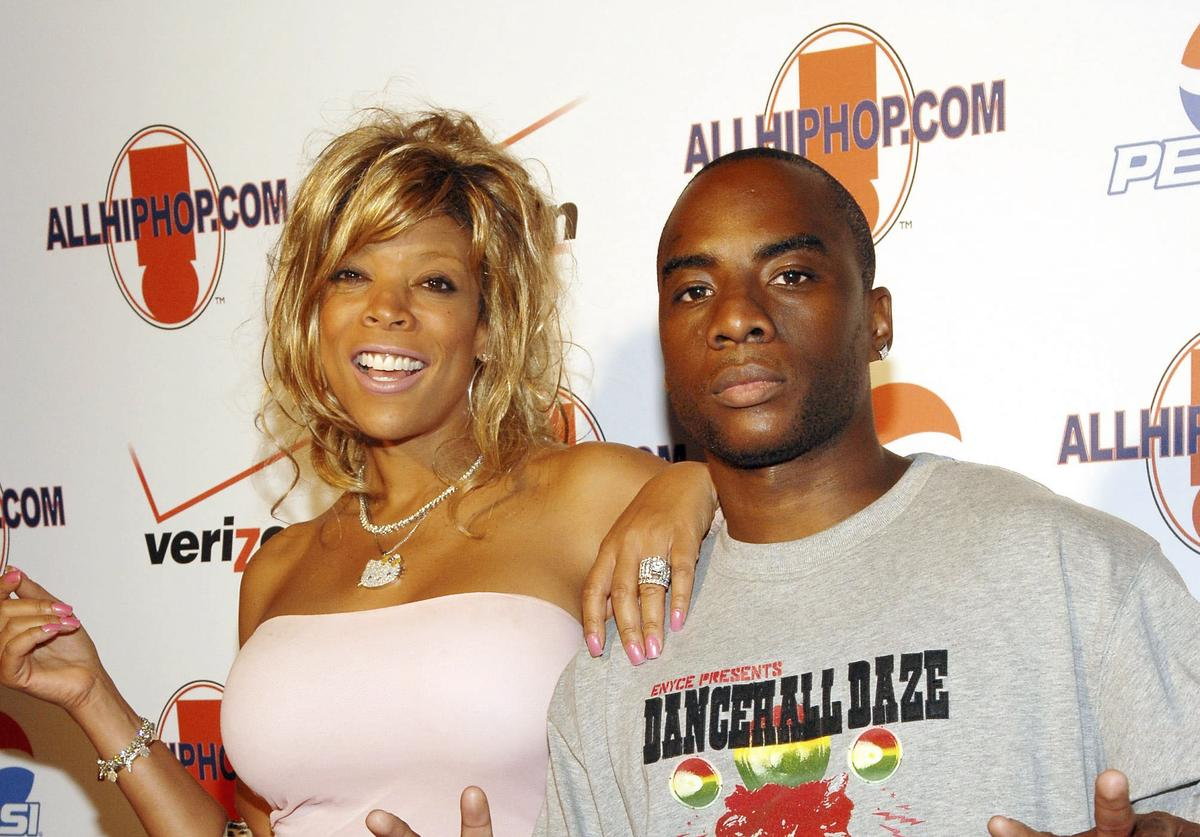 Wendy Williams (L) and Charlemagne Tha God attend AllHipHop.Com's Relaunch Celebrity Bash at the Newspace August 03, 2006 in New York City