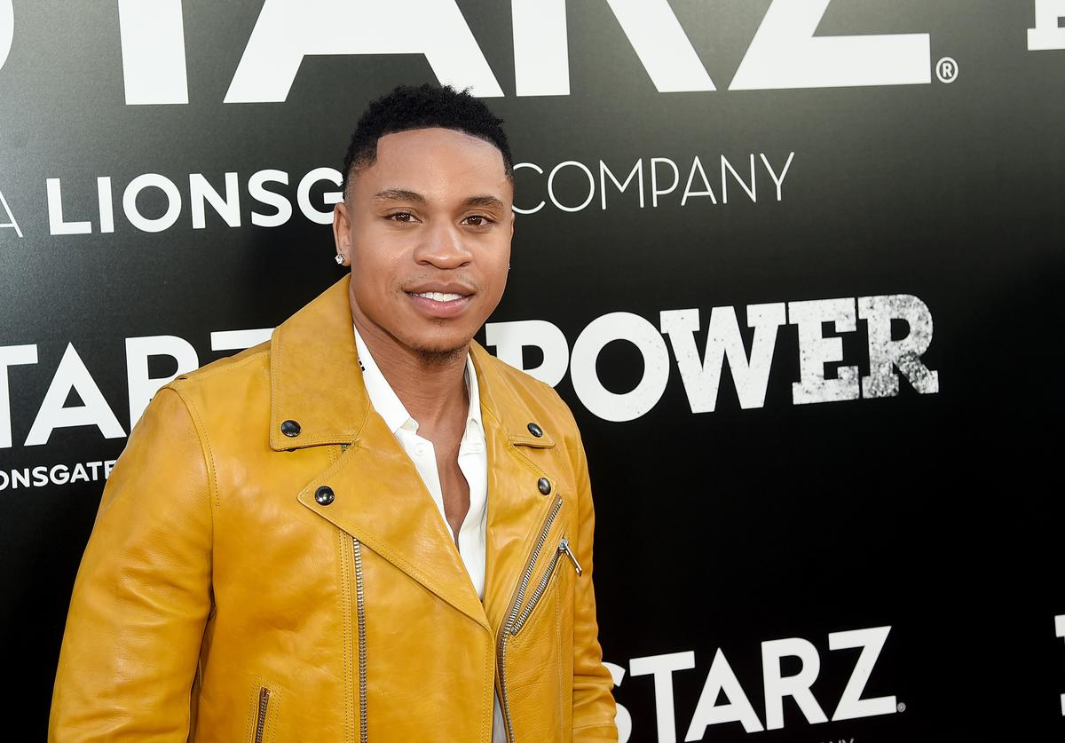 Rotimi Akinosho attends the Starz 'Power' The Fifth Season NYC Red Carpet Premiere Event & After Party on June 28, 2018 in New York City
