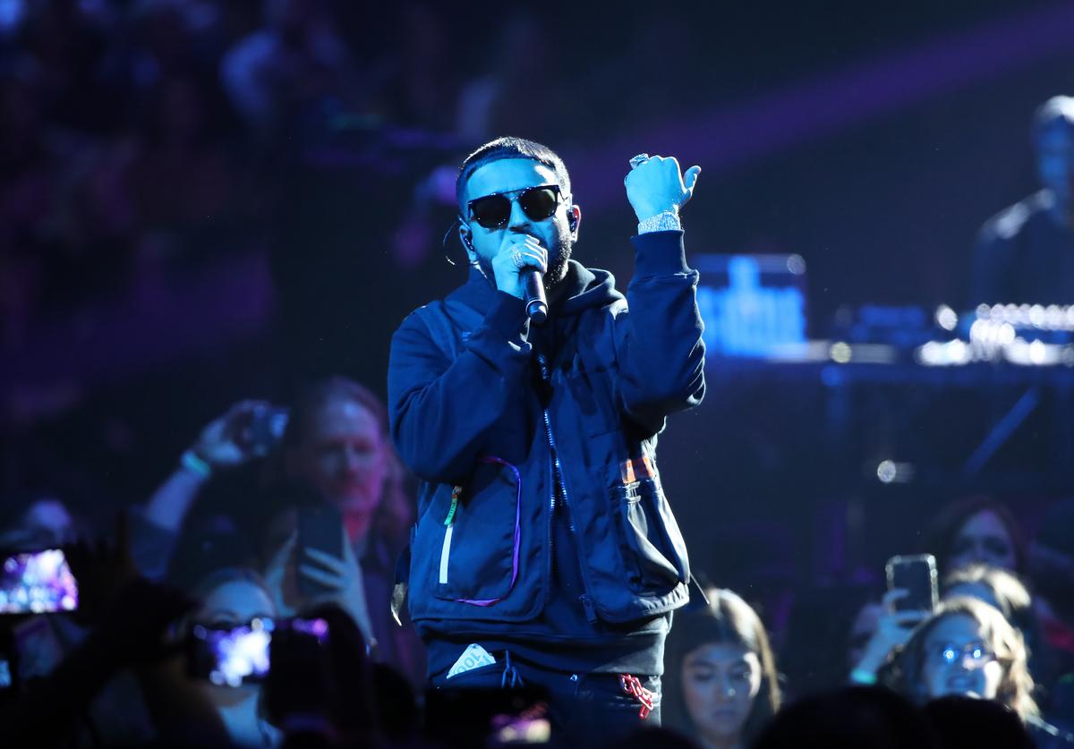 NAV performs during the 2019 Juno Awards at Budweiser Gardens on March 17, 2019 in London, Canada.