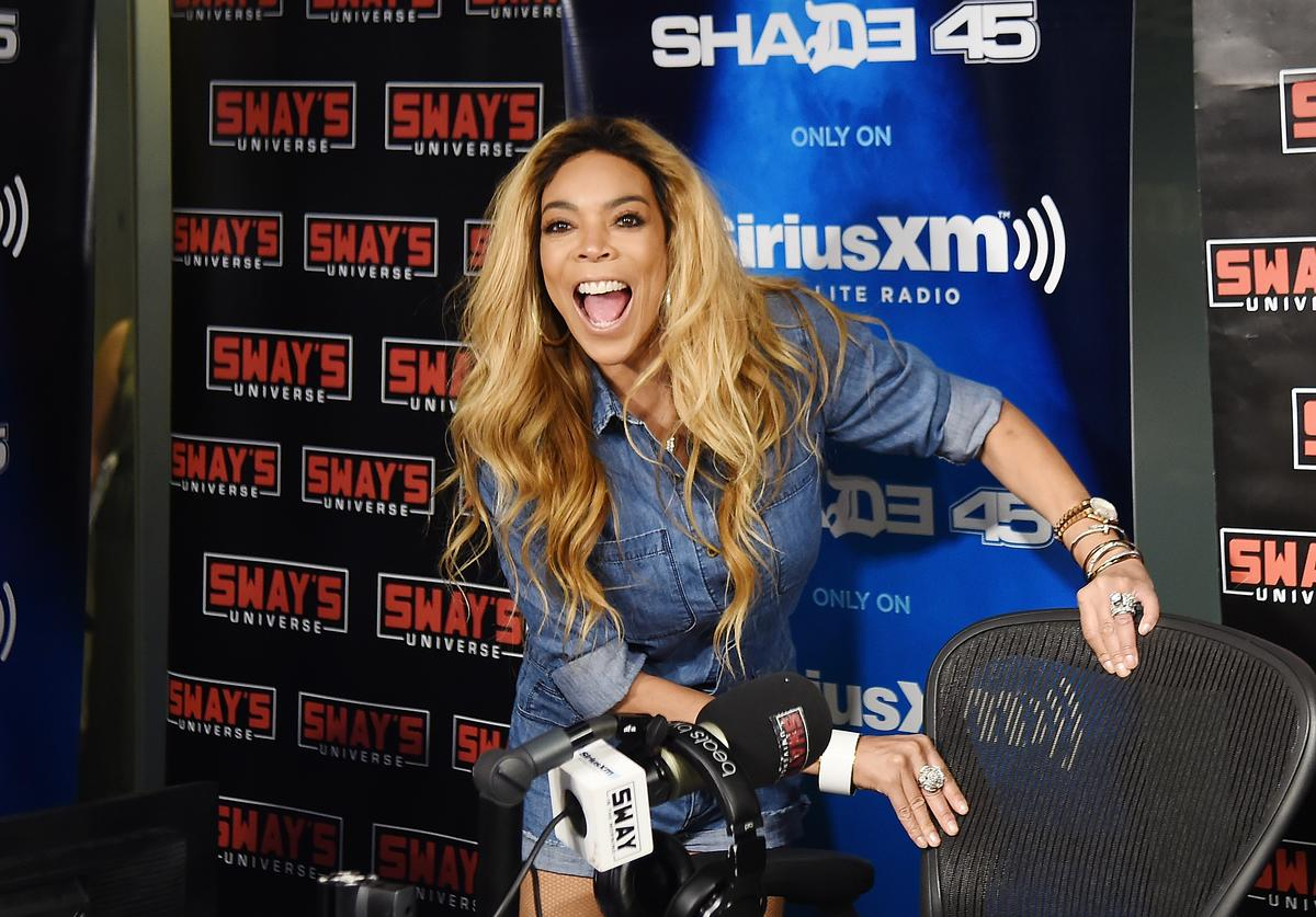 Wendy Williams visits 'Shade 45' hosted by Sway at SiriusXM Studios on July 13, 2017 in New York City