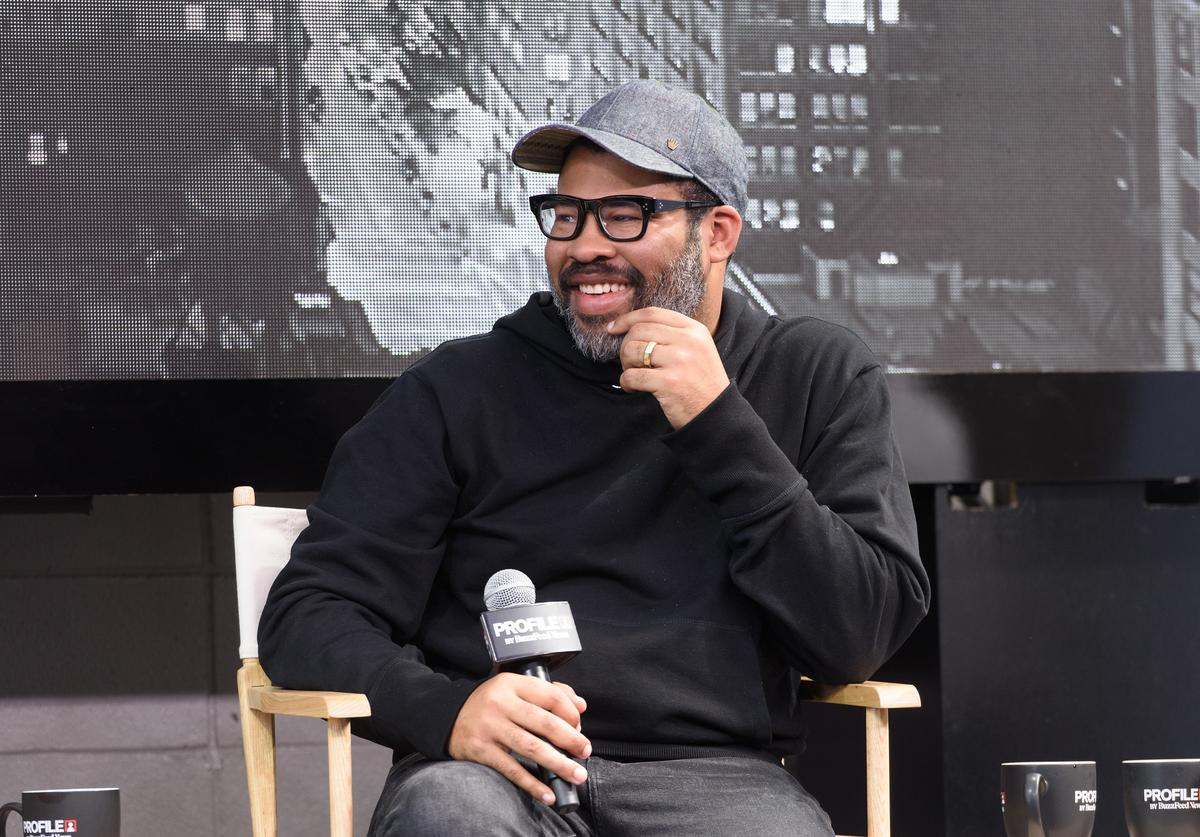 Jordan Peele attends Buzzfeed Conversation with Jordan Peele, Lupita Nyong'o and Winston Duke on the upcoming Universal Pictures film 'US' at Comcast NBCUniversal House at SXSW during the Comcast NBCUniversal House at SXSW on March 9, 2019 in Austin, Texas. (