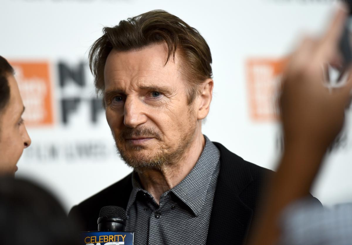 Liam Neeson attends the Netflix's 'The Ballad of Buster Scruggs' NYFF Red Carpet Premiere at Alice Tully Hall on October 4, 2018 in New York City.