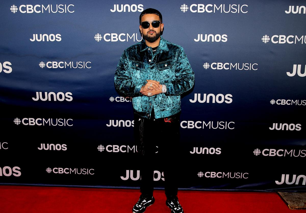Nav attends the 2019 Juno Awards - Arrivals at Budweiser Gardens on March 17, 2019 in London, Canada.