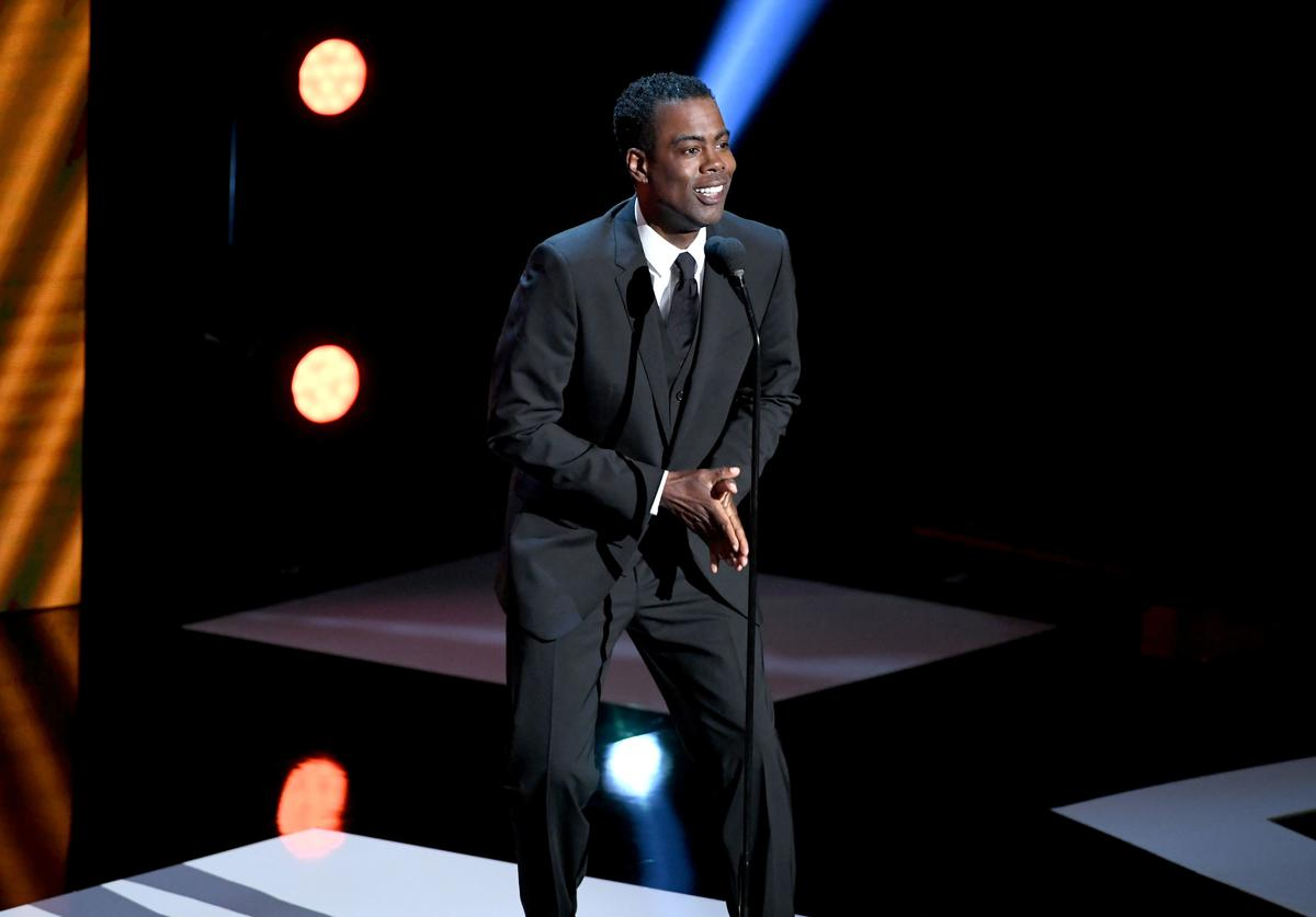 Chris Rock onstage at the 50th NAACP Image Awards at Dolby Theatre on March 30, 2019 in Hollywood, California.