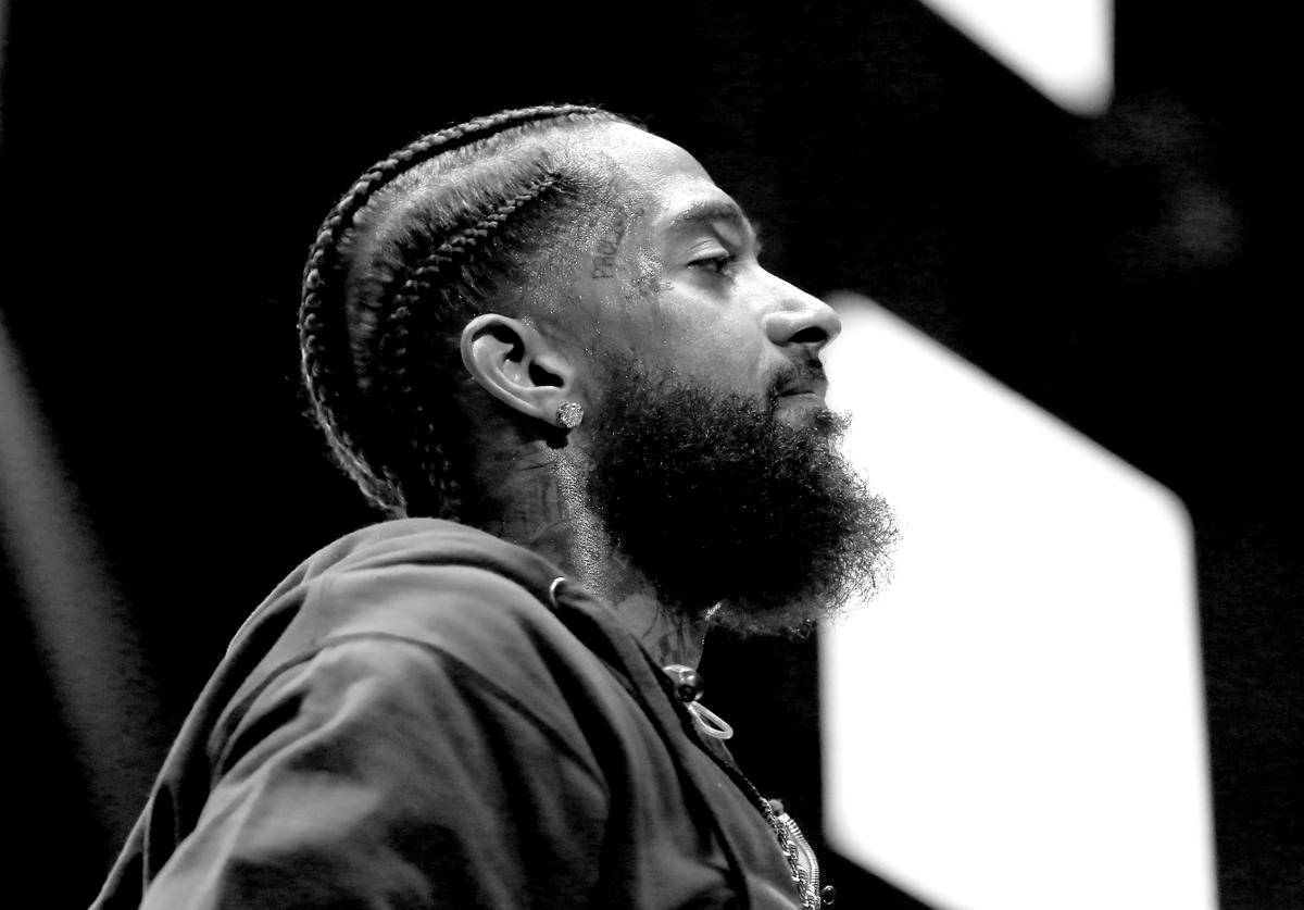 Nipsey Hussle performs onstage at the STAPLES Center Concert Sponsored by SPRITE during the 2018 BET Experience on June 23, 2018 in Los Angeles, California