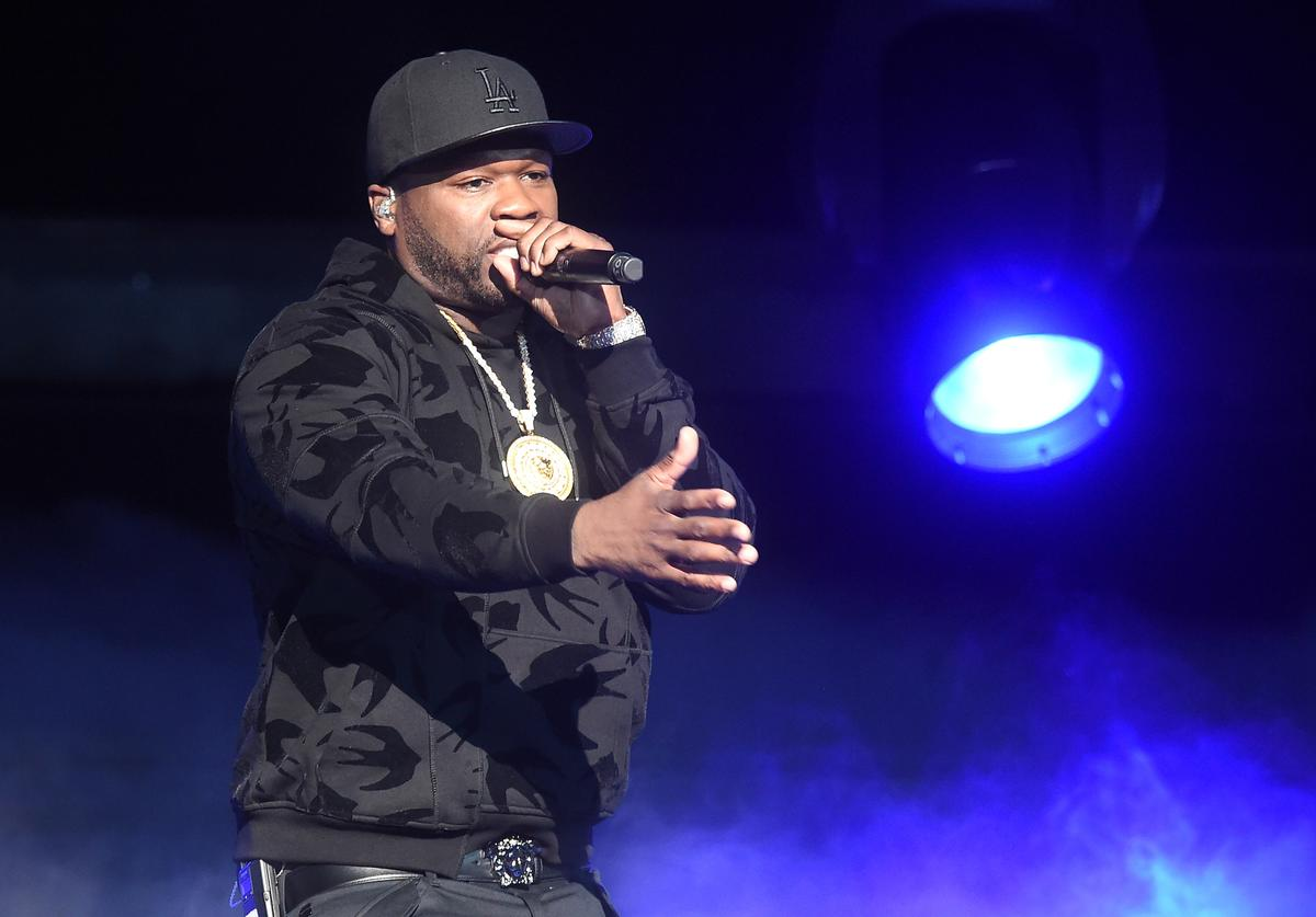 Curtis '50 cent' Jackson performs onstage during the Starz 'Power' The Fifth Season NYC Red Carpet Premiere Event & After Party on June 28, 2018 in New York City