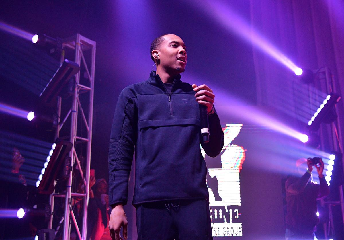 G Herbo performs at Swervo Tour G Herbo at The Masquerade on October 30, 2018 in Atlanta, Georgia