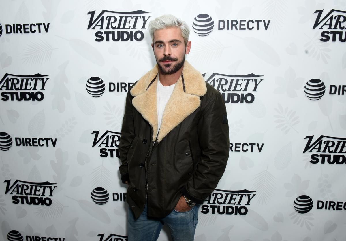 "Zac Efron at the ""Extremely Wicked, Shockingly Evil and Vile"" party at DIRECTV Lodge presented by AT&T at Sundance Film Festival 2019 on January 26, 2019 in Park City, Utah"