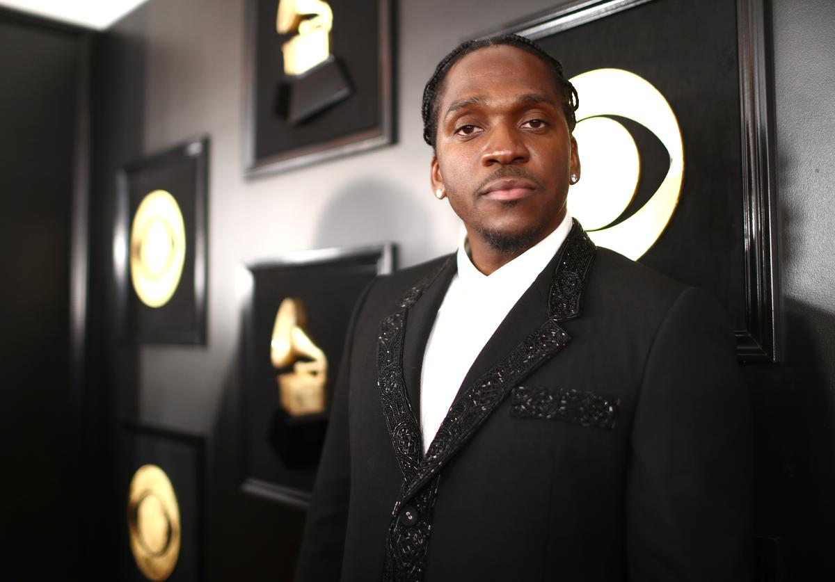 Pusha T attends the 61st Annual GRAMMY Awards at Staples Center on February 10, 2019 in Los Angeles, California.
