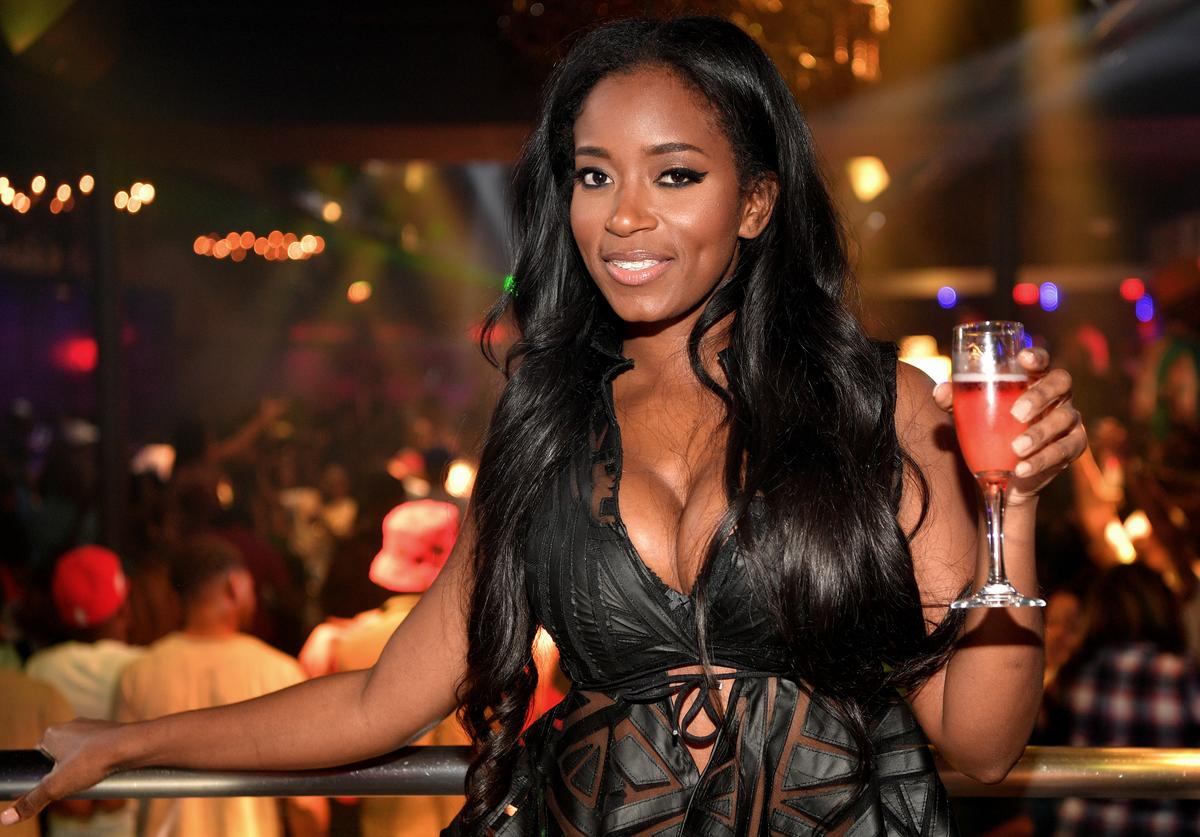 Tia Becca attends the Love and Hip Hop Take Over at Prive on May 28, 2016 in Atlanta, Georgia