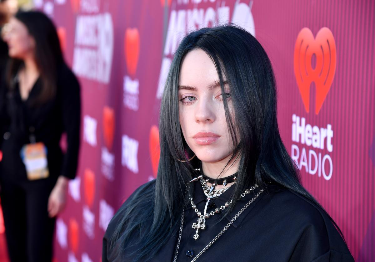 Billie Eilish attends the 2019 iHeartRadio Music Awards which broadcasted live on FOX at Microsoft Theater on March 14, 2019 in Los Angeles, California