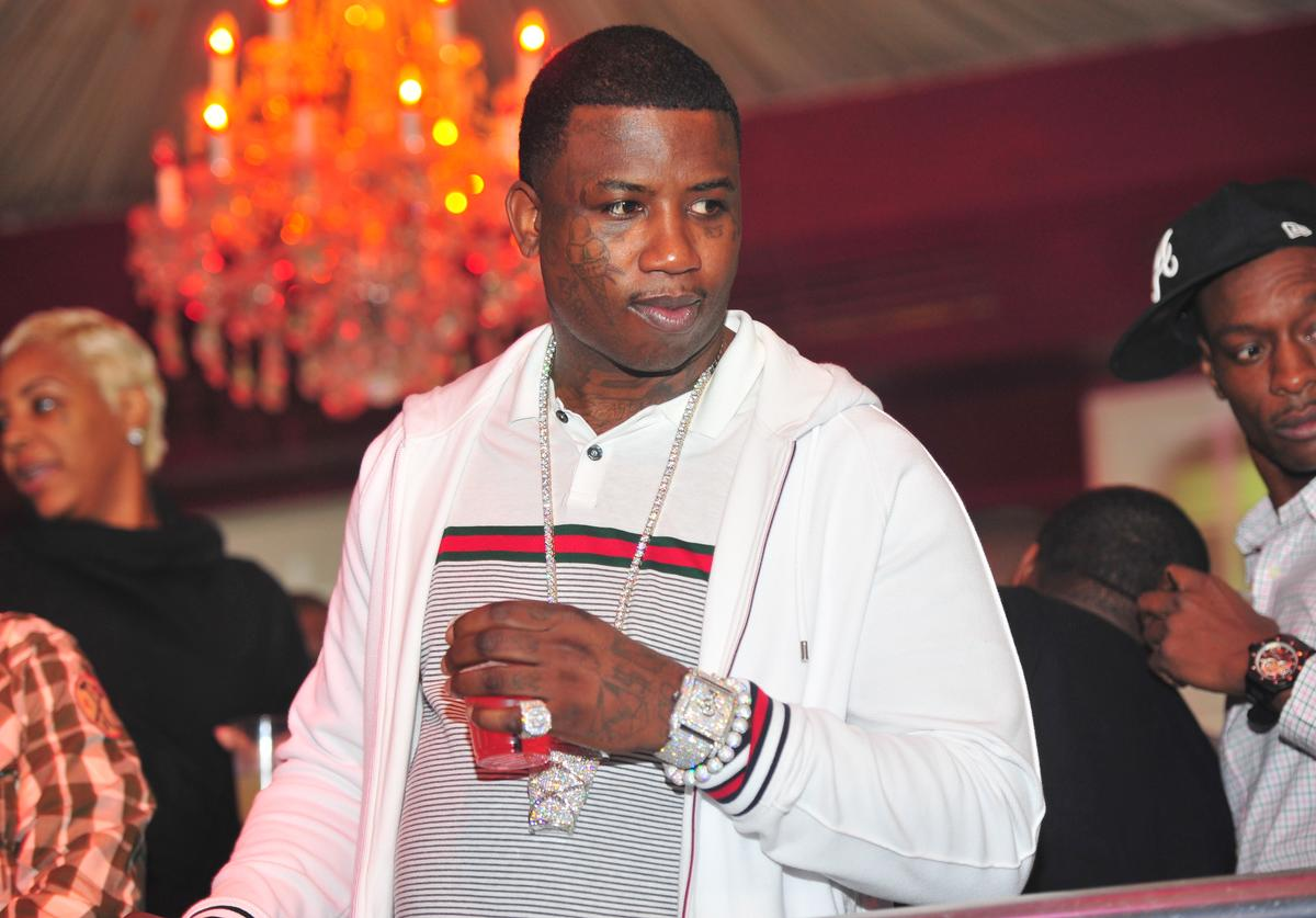 Gucci Mane attends a party at the Velvet Room on December 25, 2011 in Atlanta, Georgia