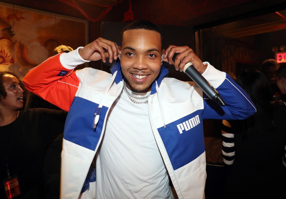G Herbo backstage at Gramercy Theatre on October 23, 2018 in New York City
