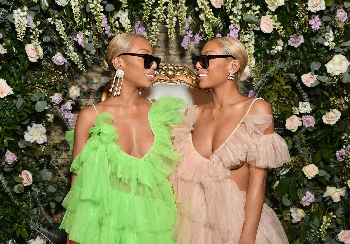 Shannon Clermont and Shannade Clermont attend as Instagram celebrates #BlackGirlMagic and #BlackCreatives on February 23, 2018 in New York City